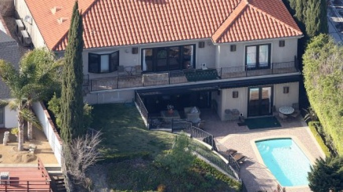 Paula Abdul house in California