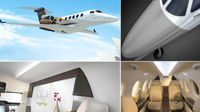 The Embraer Phenom 300: Luxury & thrill in the air