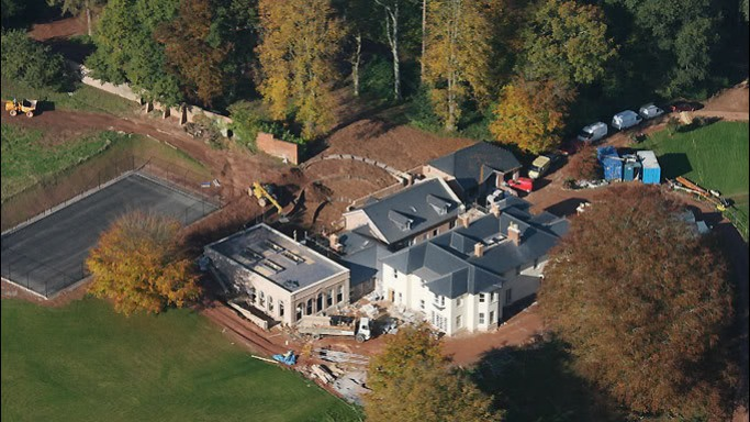 Johnny Depp mansion in Quantock Hills