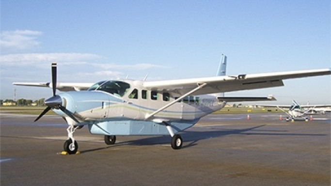 Cessna 208B Grand Caravan car - Color: White  // Description: costly