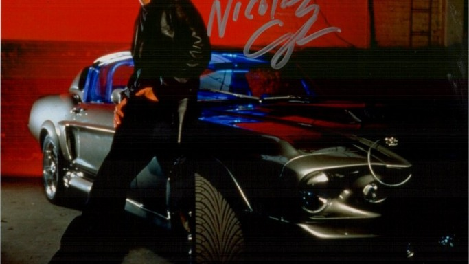 Nicolas Cage (With Mustang)