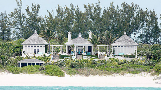 Mariah's 3-acre gated compound in Bahamas