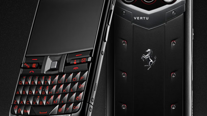 Vertu Constellation Quest Ferrari is inspired by Ferrari 458 Italia
