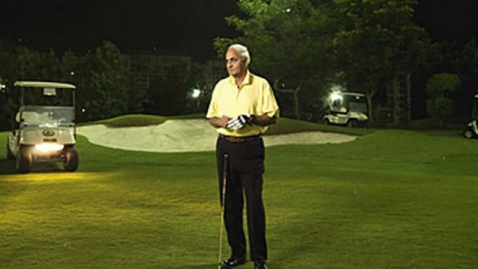 Kushal Pal Singh playing golf