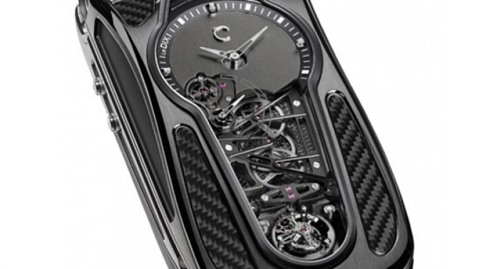 Celsius X VI II LeDIX Furtif tourbillon smartphone to sell at $300k