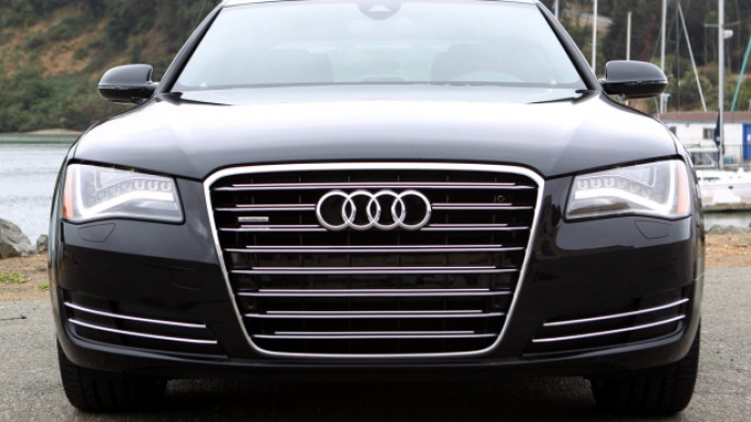 A8 car - Color: Black  // Description: