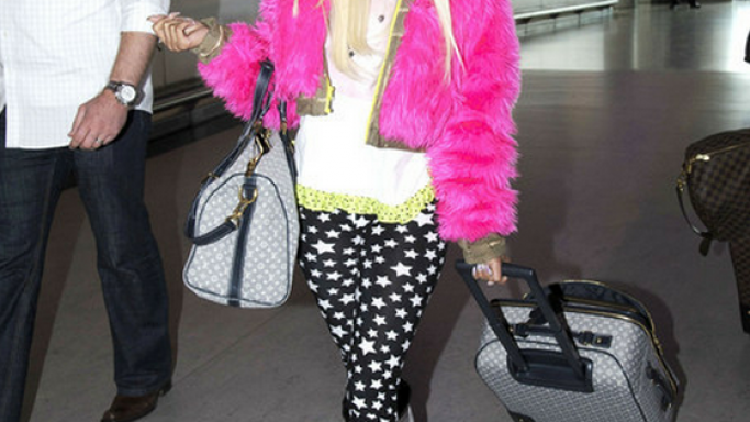 Nicki Minaj has been spotted wearing the famous Versace January J Sunglasses