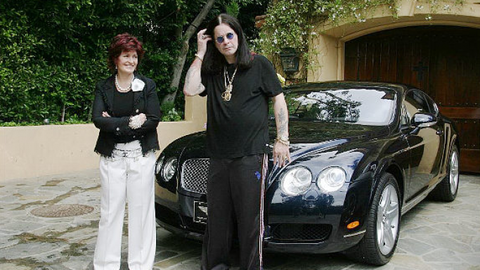 photo of Ozzy Osbourne Bentley - car