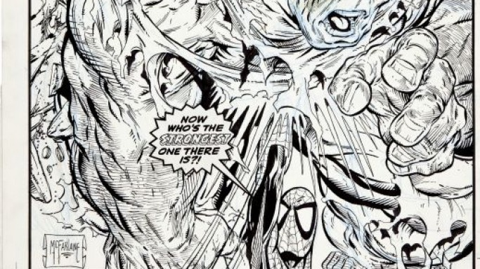Amazing Spider-Man #328 Cover Art by Todd McFarlane sells for a record $657,250