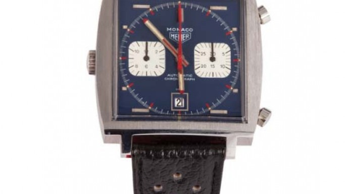 "Steve McQueen watch worn in the film ""Le Mans"" sold for $800,000"