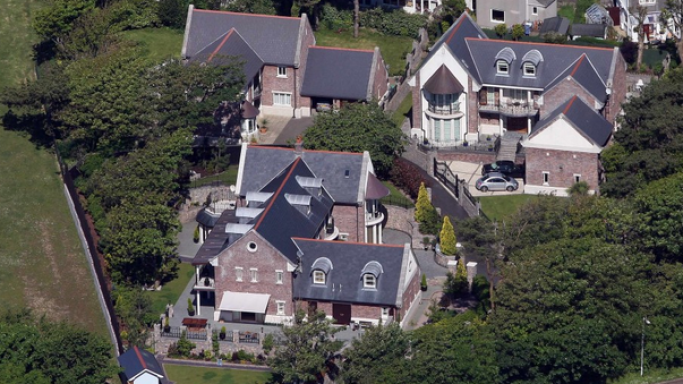 photo: house/residence of hot beautiful sexy  45 million earning  Swansea, West Glamorgan, Wales, UK-resident