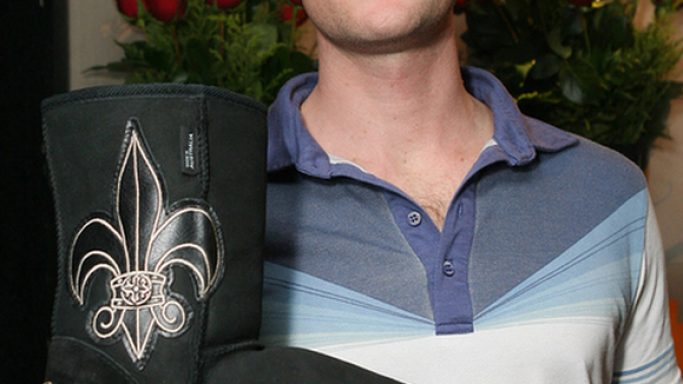 Neil Patrick Harris covered his soles with Koolaburra boots