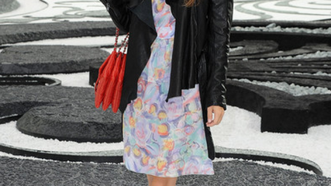 Ms.Bilson has been seen on a number of occasions sporting the flap bag from Chanel.