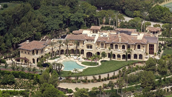 Eddie Murphy mansion in Granite Bay, California