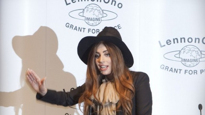 Lady Gaga pleadges $1 million to the Red Cross to aid NYC Superstorm Sandy victims.