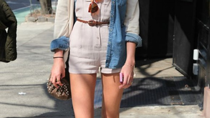 Candice Swanepoel is often spotted wearing the Champion Canvas Sneakers from Keds.