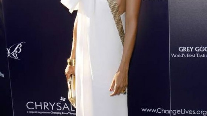 Eva Mendes at Chrysalis event