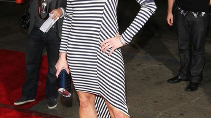Chelsea Handler wears Gio Diev Nikko ll Leather Pumps