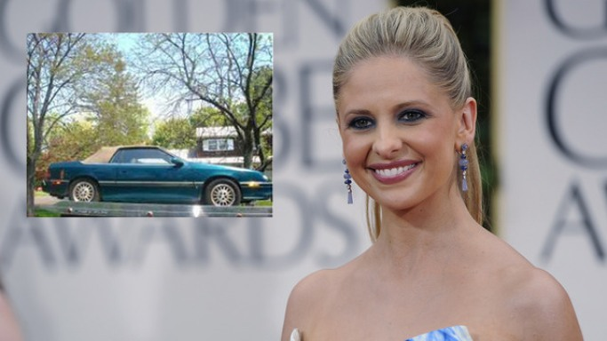 photo of Sarah Michelle Gellar Chrysler LeBaron - car