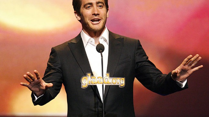 Jake Gyllenhaal attends GLAAD event