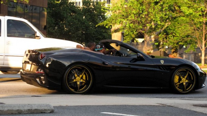 photo of Young Jeezy Ferrari California  - car