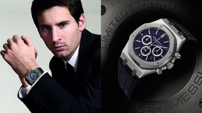 The No.10 Royal Oak Leo Messi to be auctioned by Sotheby's Geneva