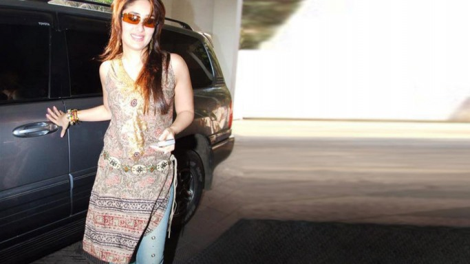 Kareena drives Lexus LX 470