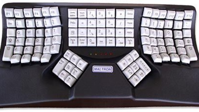 Maltron Keyboard The most expensive keyboard in town