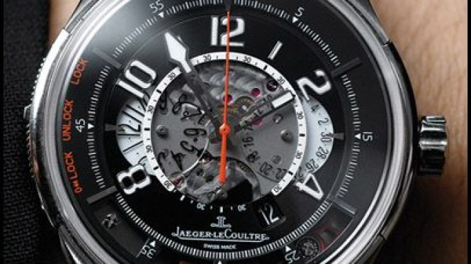 Jaeger LeCoultre Wristwatch Starts the Aston Martin