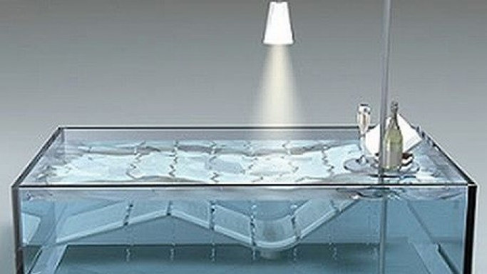 Hoesch Water Lounge – Luxurious chaise lounge and bathtub hybrid