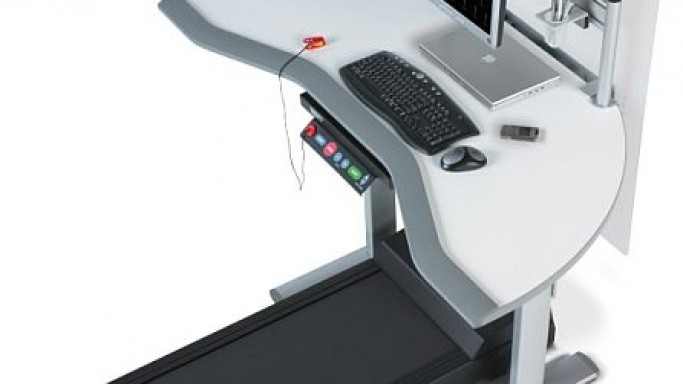Walkstation : WorkSpace Treadmill for Computer Geeks