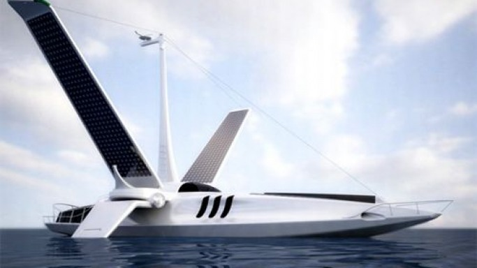 Volitan, the Flying Fish – Futuristic green concept boat