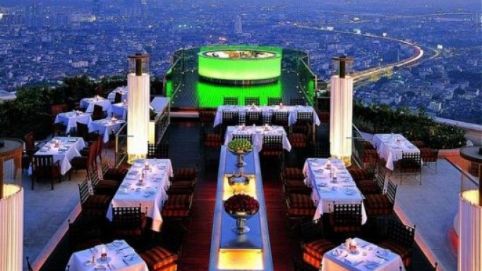 The $300,000 dinner at Bangkok's Lebua Hotel
