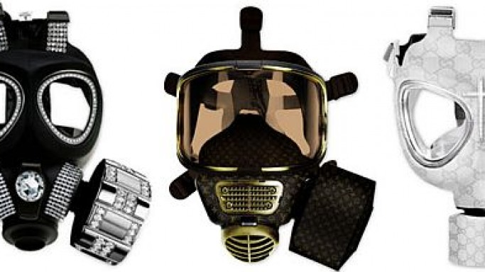 Diddo Velema gas masks face the apocalypse in style