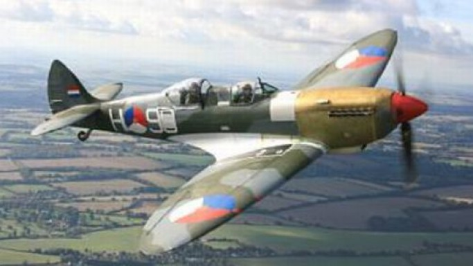 Iconic World War II Spitfire fetches £1.7 million at Bonhams