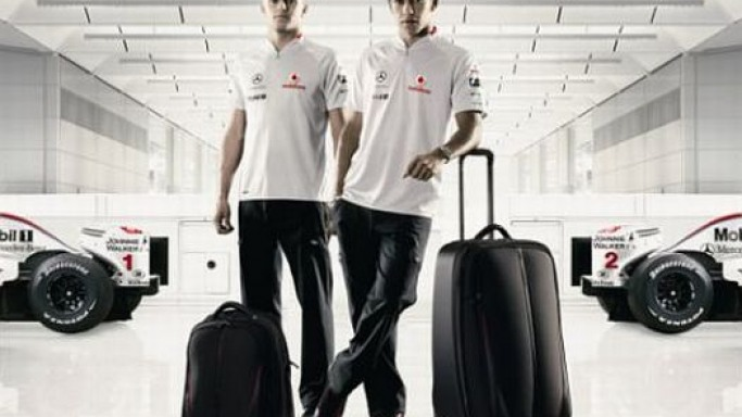 McLarenSport and Samsonite team up for luxury travel bags