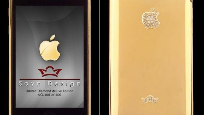 iPhone 3G limited Diamond deluxe Gold Edition by Sayn Design