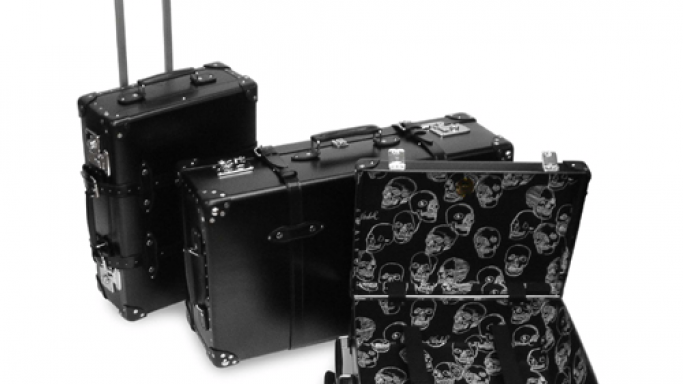 Glonbe Trotter × Andy Warhol limited edition luggage by Hysteric Glamour