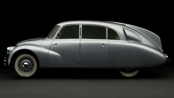Car from Czechoslovakia, Tatra T87 up for auction