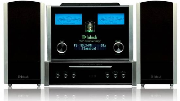 McIntosh 60th anniversary catalog gets $7,500 Integrated Tabletop Audio System