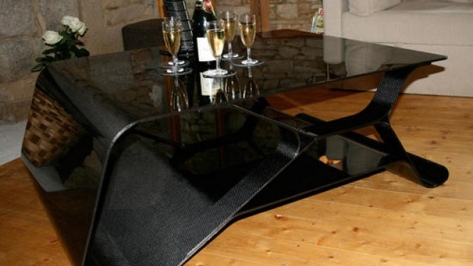 $16,000 carbon fiber coffee table is an ensemble of beauty
