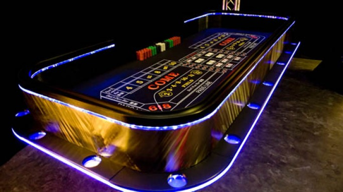 LED Casino Tables to get you in the mood
