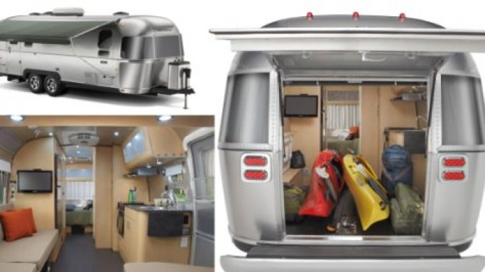 2011 Eddie Bauer Airstream travel trailer for outdoor enthusiasts