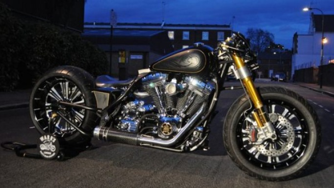 Bespoke Harley-Davidson 'Unorthodox' by Warr's of London