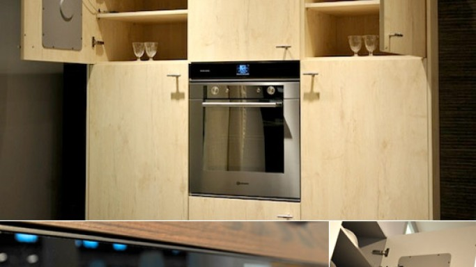 Harman Kardon MaestroKitchen sound system for world's first musical kitchen cabinet