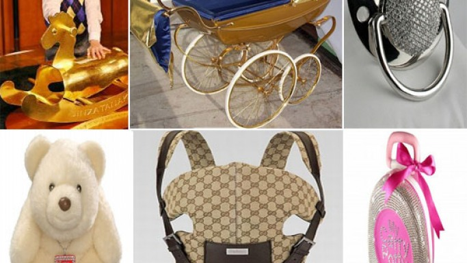 Most Expensive Baby Items for rich toddlers