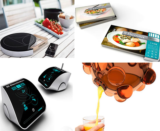Electrolux Design Lab 2011 concepts envision futuristic kitchen appliances