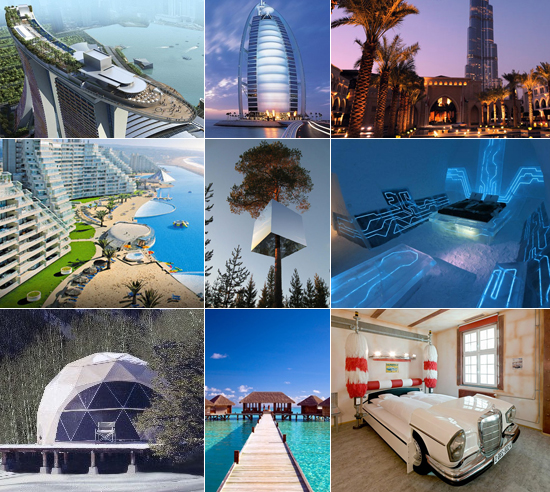 World's most expensive hotels with unique concepts