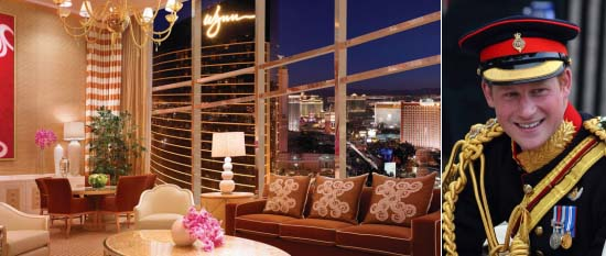 Prince Harry's controversial stay at the most expensive Encore Wynn Las Vegas suite