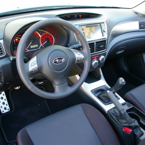 Subaru Impreza Turbo Interior